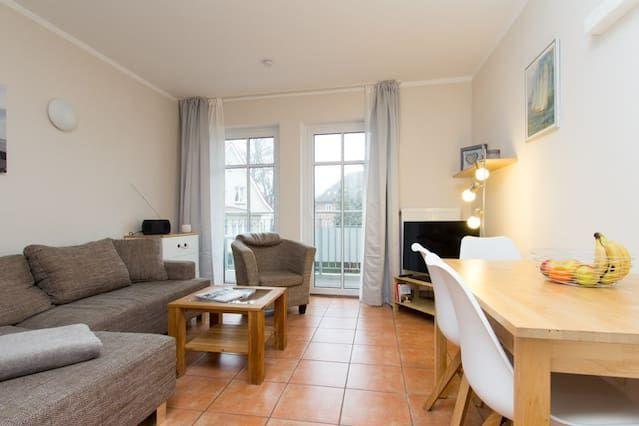 Wohnung auf 45 m² in Warnemünde