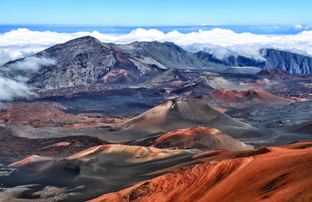 Haleakala Vulkan Hawai