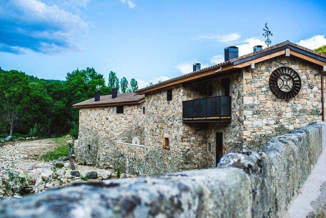 Vista exterior del Hotel Gredos María Justina