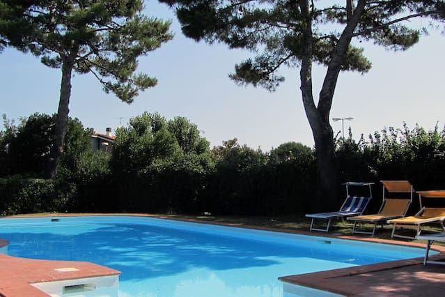 Casas adosadas en una residencia con piscina, superaccessoriato!
