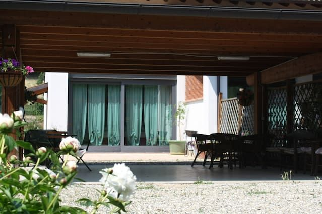 A romantic house in the countryside near Parma