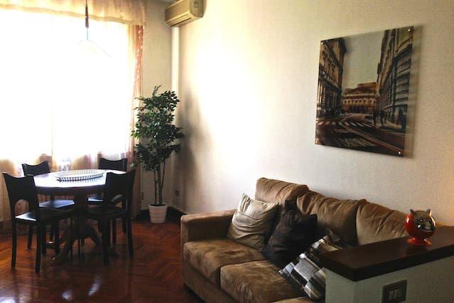 Alojamiento con balcón en Milan