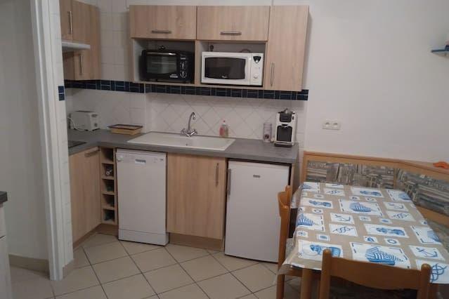 Appartement à Le tréport de 1 chambre