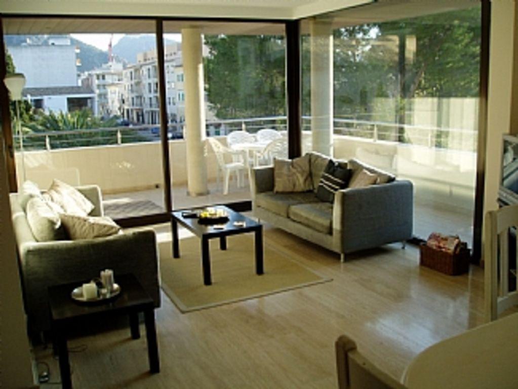 Apartamento con jardín para 8 huéspedes