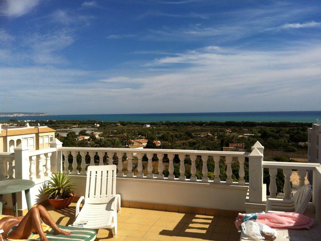Ferienwohnung für 4 Personen mit Balkon