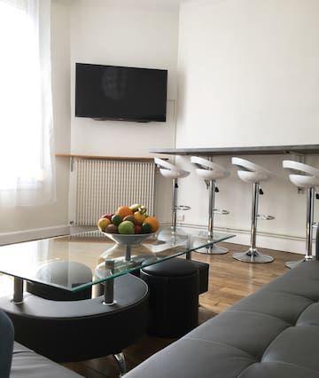 Hébergement avec 4 chambres à Reims