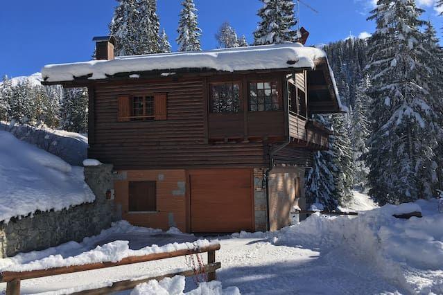 Casa vacacional directamente en la pista de esquí