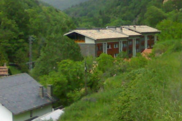 Alojamiento en Ribes de freser con balcón