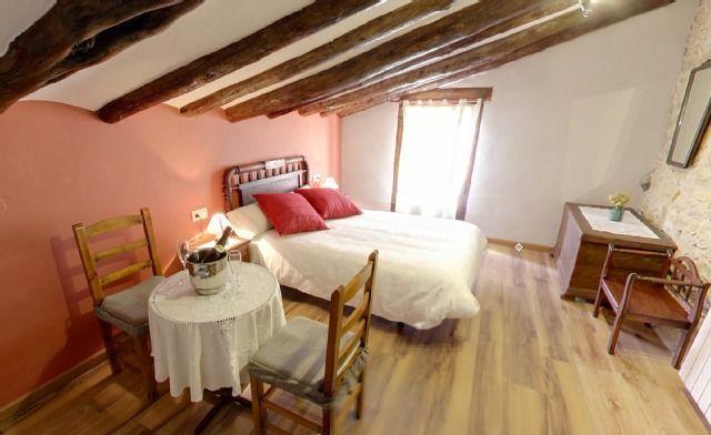 Alojamiento con jardín en Morella