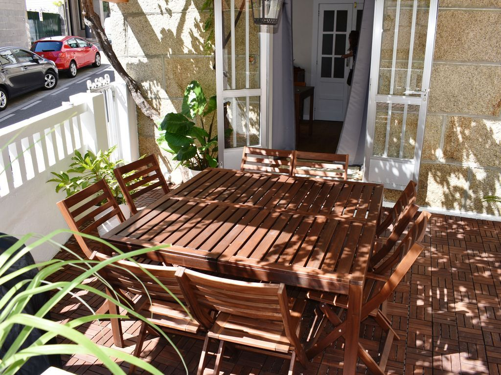 Appartement de 4 chambres avec jardin