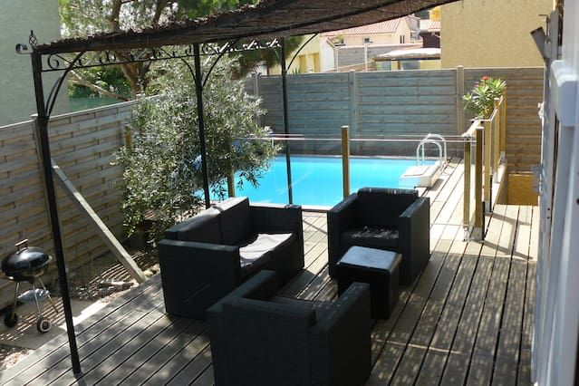 Alojamiento con jardín de 90 m²