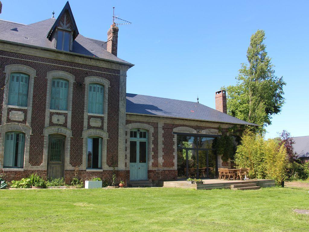 Residencia para 11 huéspedes en Saint-sylvain