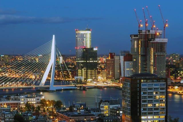 Casa atractiva en Rotterdam