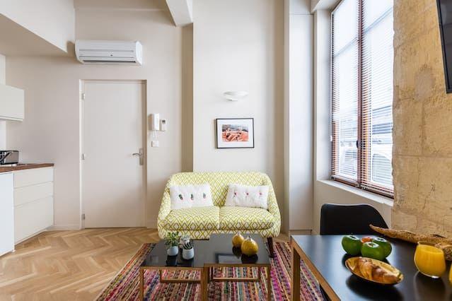 Hébergement avec wi-fi de 23 m²