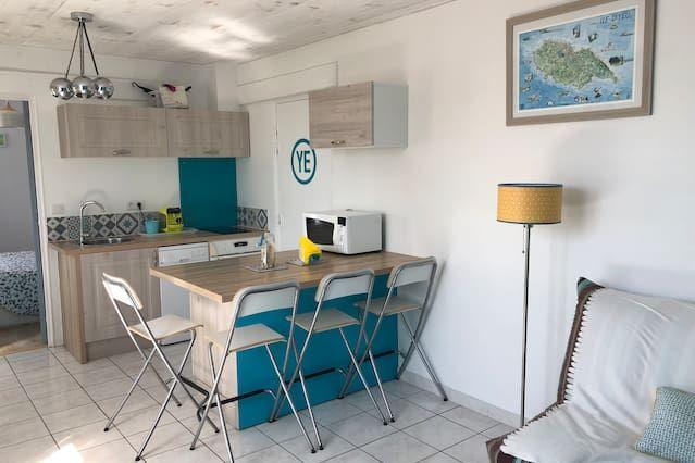 Hébergement à Ile d'yeu avec wi-fi
