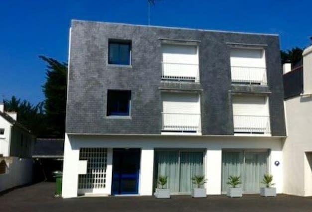 Equipado apartamento en St pierre quiberon