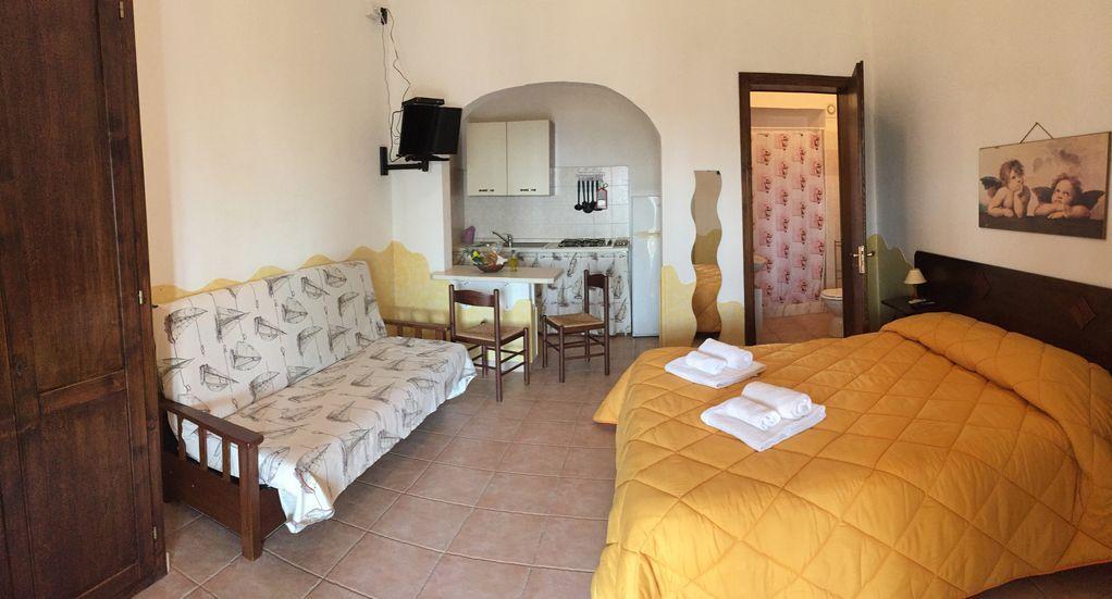 Atractiva casa de 1 habitación