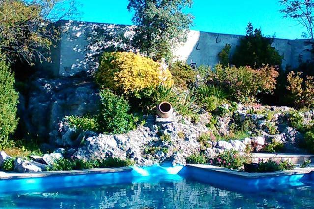 Logement pour 2 voyageurs avec piscine