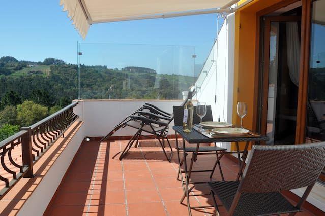 Adriatic at Quinta do Bom Vento, Queen loft studio