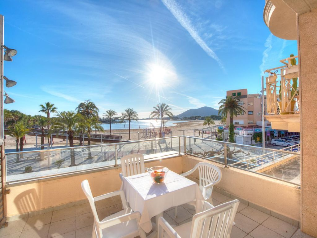 Flat for 4 people in Alcudia