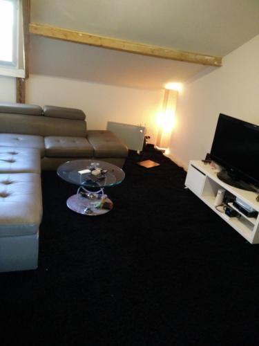 Prisé appartement avec 1 chambre