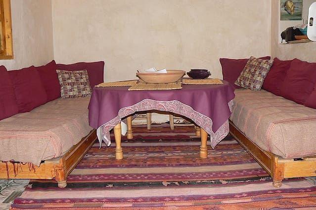 apartamento espacioso, luminoso y cómodo en la medina de Essaouira