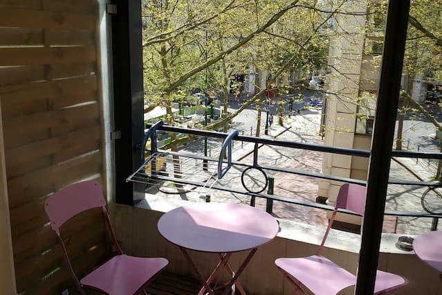 Vivienda con balcón para 2 personas
