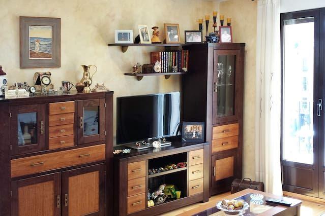 Funcional apartamento con  Sábanas y toallas en Segovia
