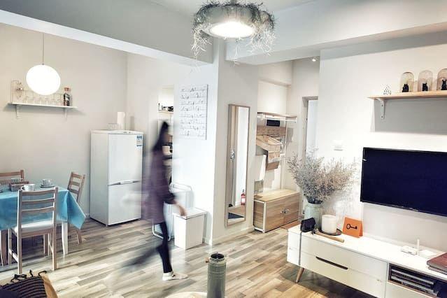 Wohnung mit 1 Zimmer und Wi-Fi