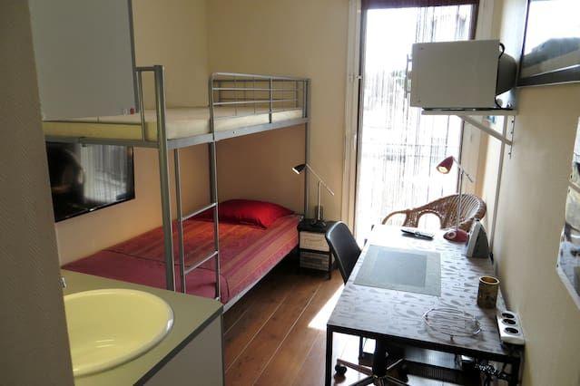 Apartamento para 1 persona en Ouistreham