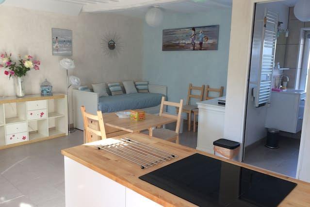 Interesante alojamiento en Luc sur mer
