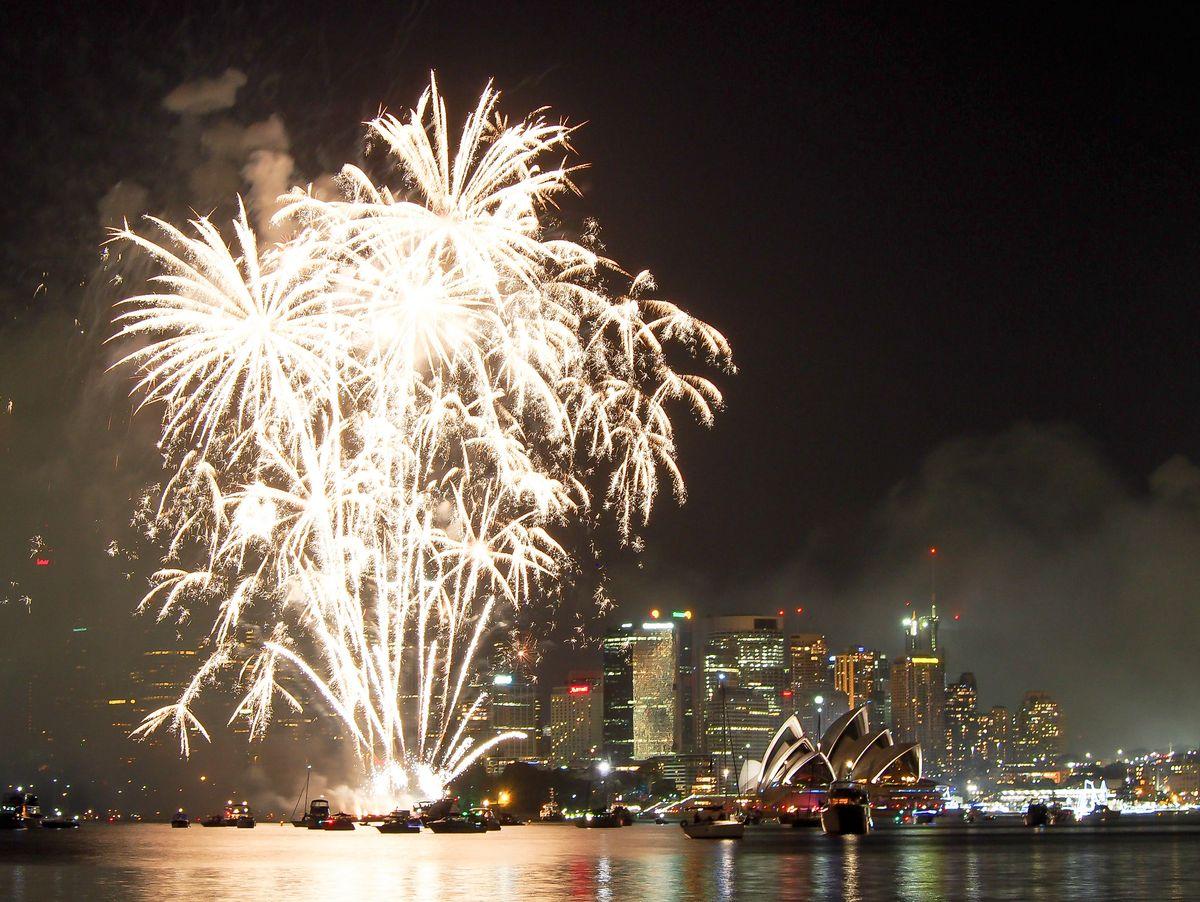 Sydney - feu d'artifice
