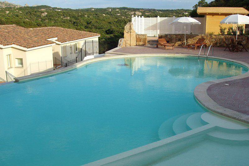 Appartamento a Baja Sardinia con Terrazza, Aria condizionata, Ascensore, Lavatrice (426220)