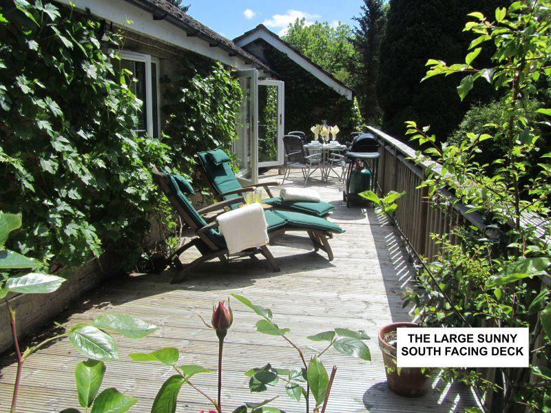 Vivienda en Monmouth con jardín