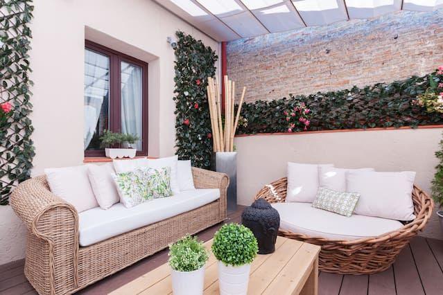 Appartement avec terrasse près de Buen Retiro