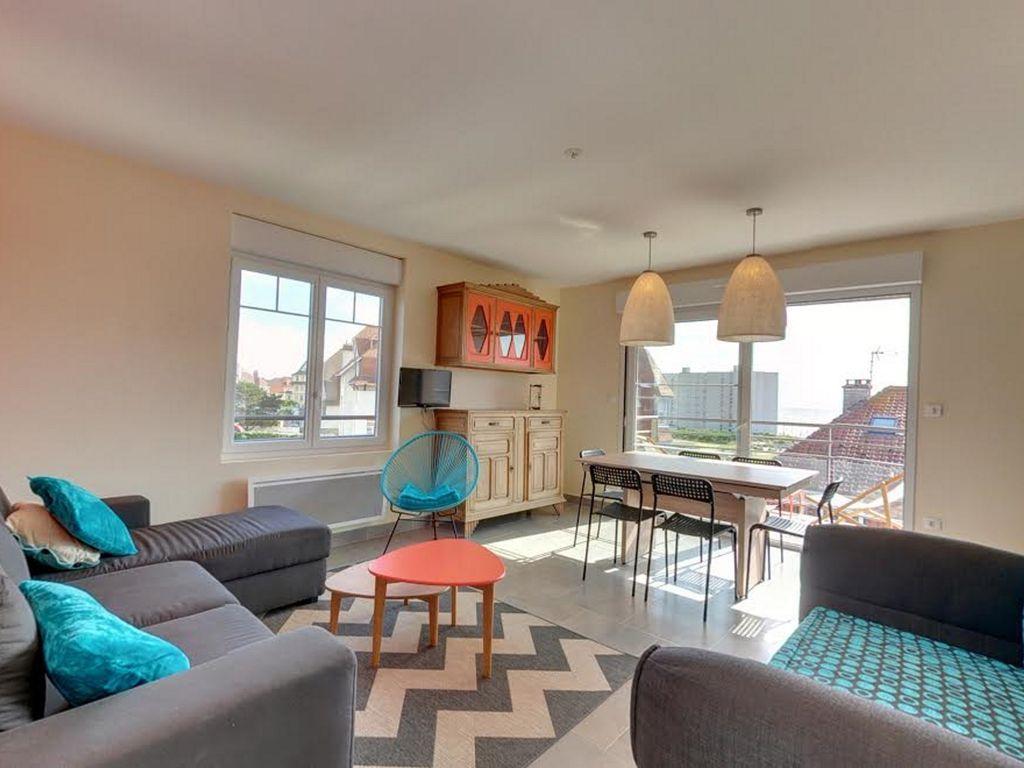 Apartment für 4 Gäste mit Balkon