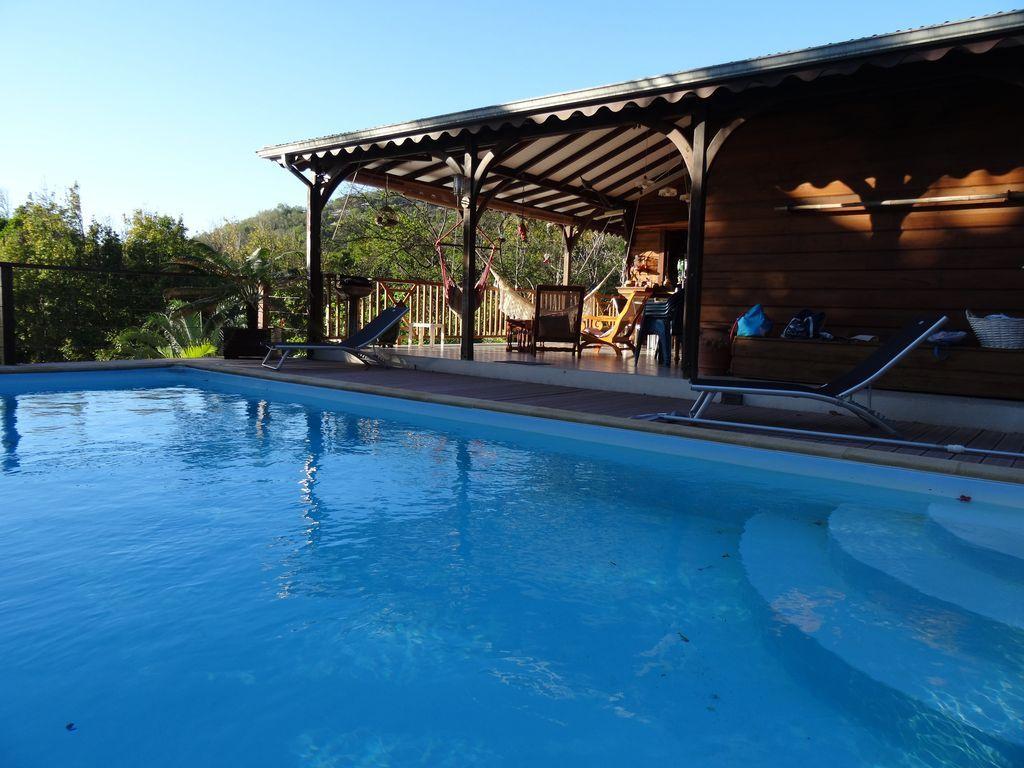 Casa con piscina en Deshaies