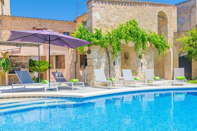Casa en Vilafranca de bonany para 8 huéspedes