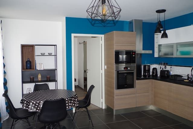 44 m² property for 3 people
