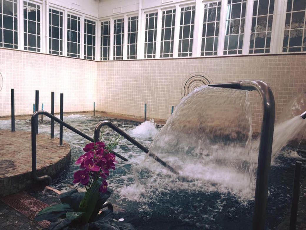 Piscina termal del Balneario de Lierganes