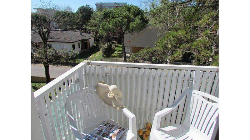 Apartamento en Bibione con balcón
