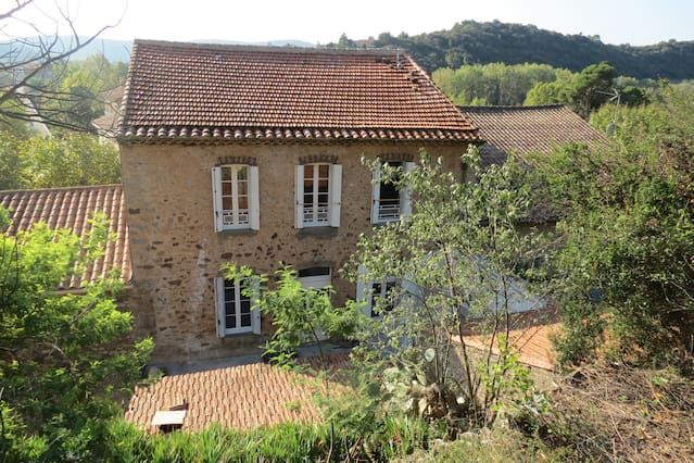 Roquebrun Maison vigneron