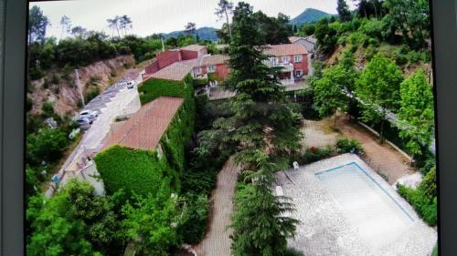 Alojamiento panorámico en Anduze