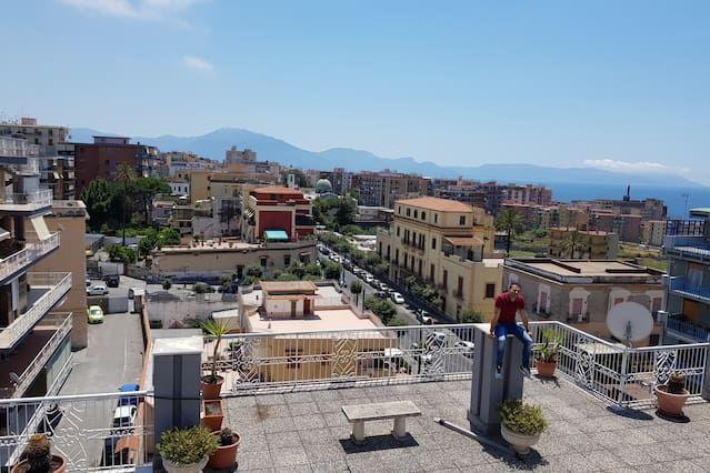 Casa Maria tra Ercolano e Vesuvio