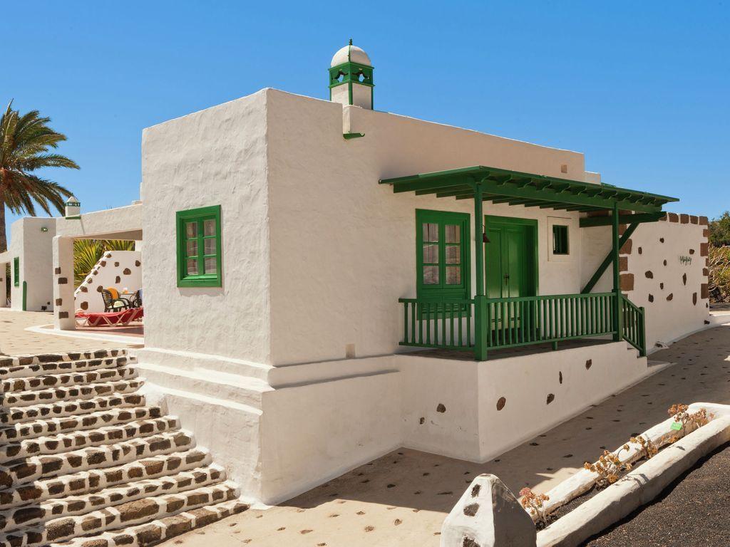 Chalet independiente con piscina compartida en Yaiza en Lanzarote