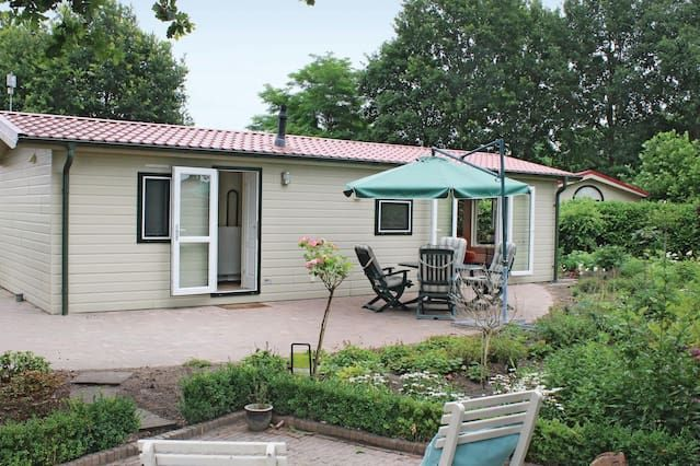 Alojamiento dotado con jardín