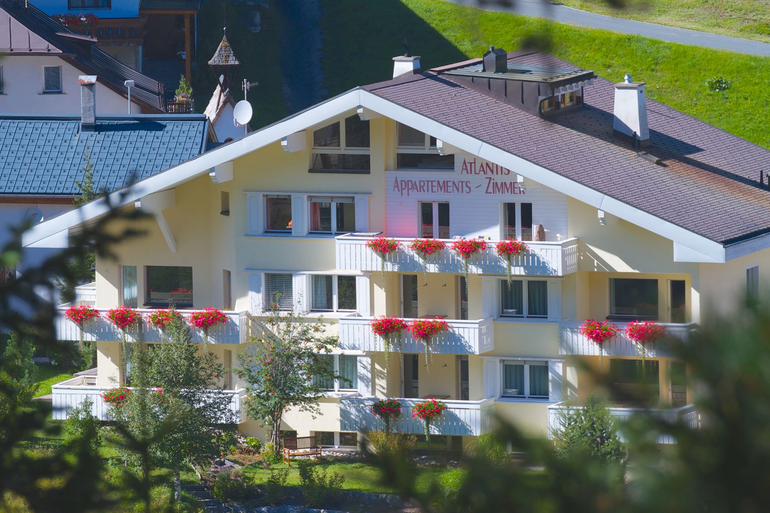 Holiday rental for 4 guests with balcony