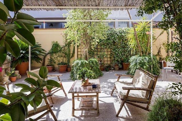 Garden in the Heart of Catania