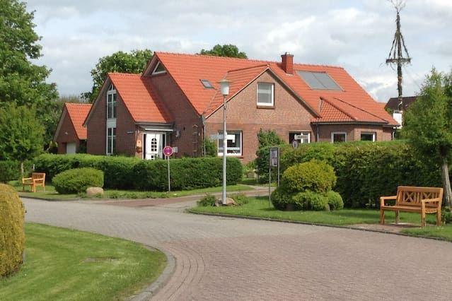 Ferienidylle en Frisia oriental, Krummhörn-Hamswehrum