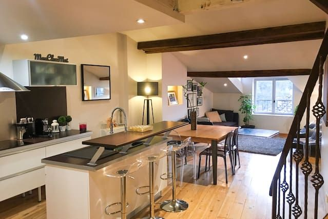 Apartamento equipado con desayuno incluído